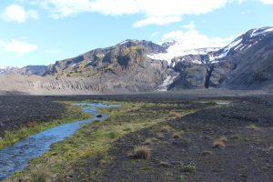View of Gigjokull