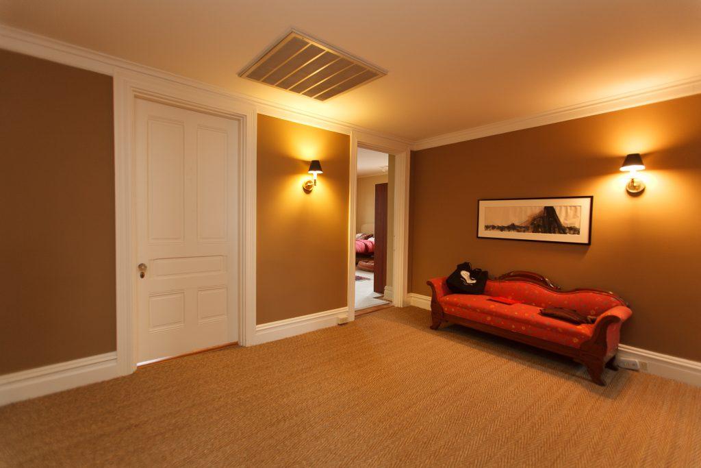 foyer area