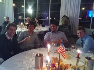 Brian, Braeden, Tom and Dan