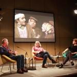 """""""Bla bla"""" Panel: Ivica Buljan, Thomas Irmer, Wojtek Klemm (f. l. t. r.)"""