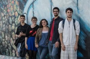 Santiago, Adrienne, Rachel, George, Ezra (fr. l. t. r.)