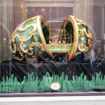 A Fabergé egg as exhibited at the Kunsthistorisches Museum - only this one is one is entirely edible
