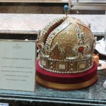 The Habsburg Crown - made of chocolate and marzipan