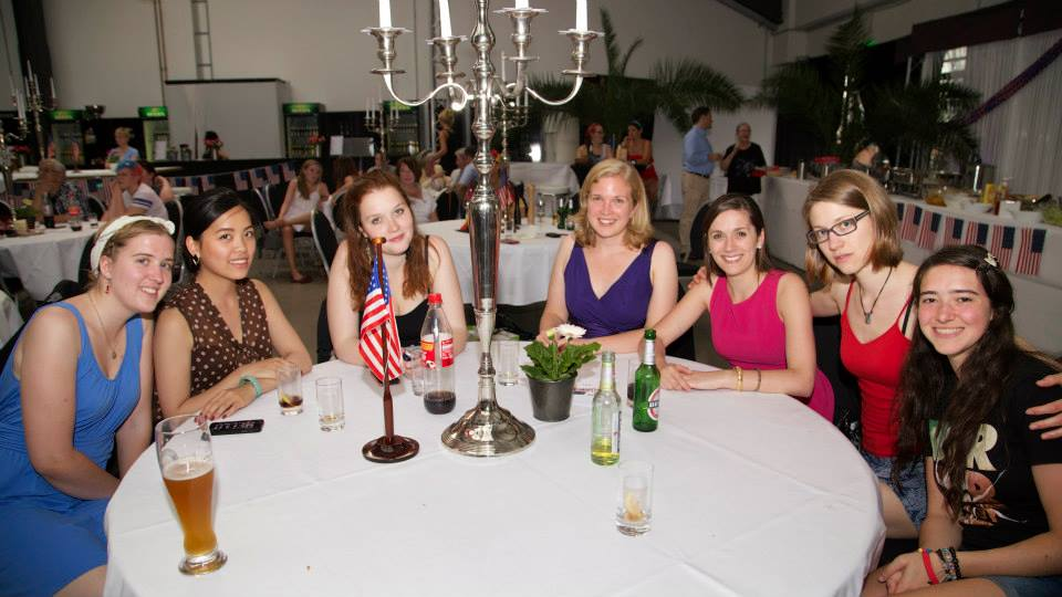 Janie, Tui, Lara, Verena Mertz (Program Coordinator), Christine (former OSA), Laura (former OSA), Margaret (from left to right)