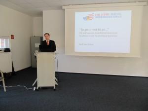 Keynote speaker Neil van Siclen (CSDAC)