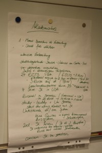 Student panel - summary of the talks with the students (2)