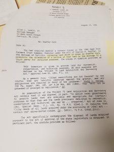 Concerning the Sale of Shaffer Park Land  e