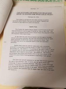 Report on Shaffer Park Seven Gables Project  e