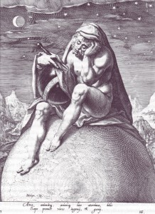 Zacharias Dolendo, Saturn as Melancholy
