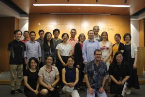 "Participants in Colloquium ""Ovid and the Latin Classics in Chinese"", Columbia Beijing Center, May 20-24, 2019"