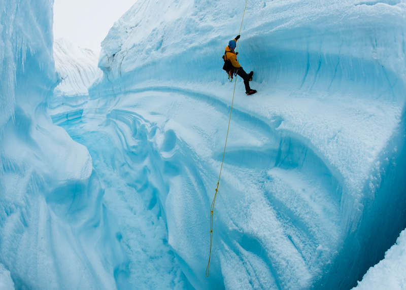 A still from Chasing Ice