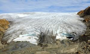 Tidewater glacier near Kulusuk, Greenland