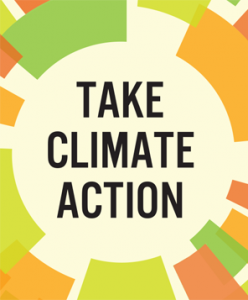 take climate action button