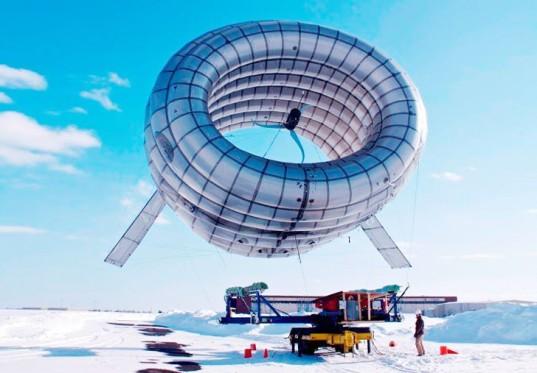 Buoyant Airborne Turbine (BAT) by Altaeros Energies