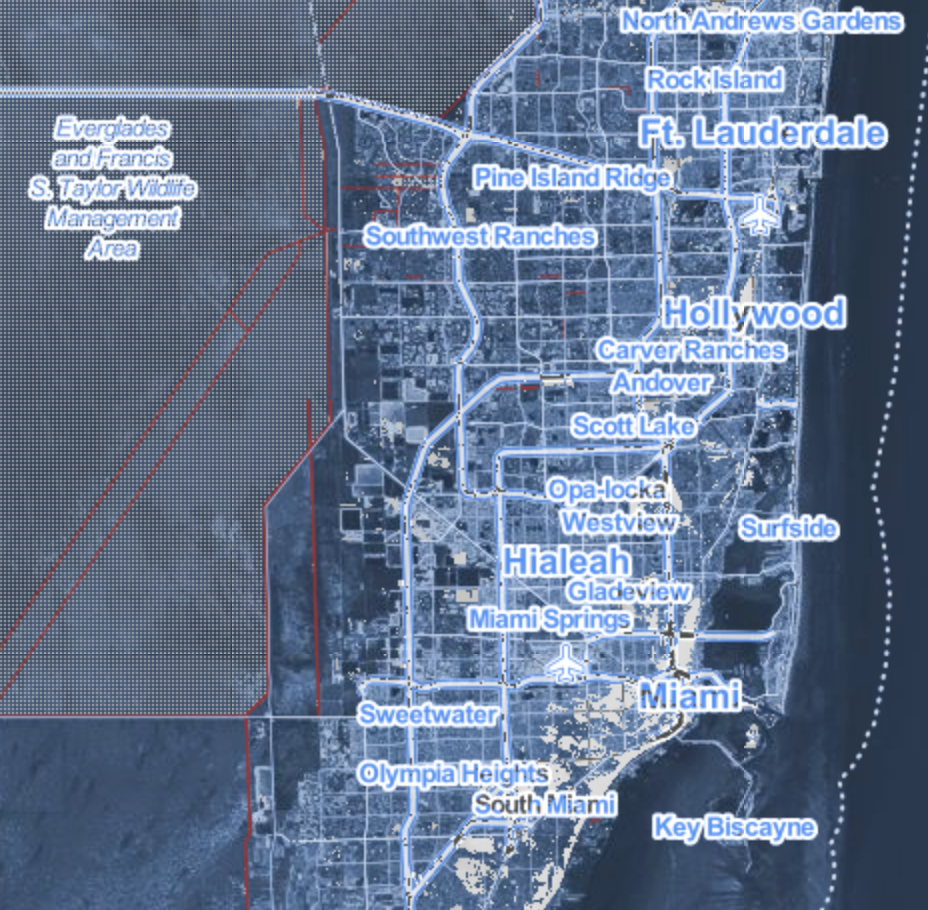 Sea Level Rise in Southern Florida
