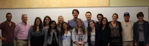 Our class with James Balog