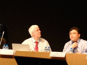 Andreas Fischlib (left) and Zou Li (right) are leading the Structured Expert Dialogue