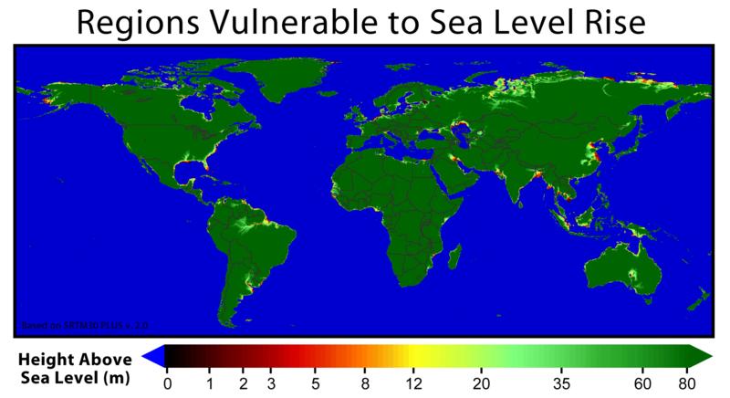 Vulnerability to Rising Sea-level