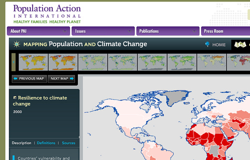 Population and Climate Change