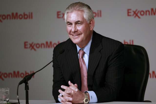 ExxonMobil CEO Rex Tilerson. Radical?