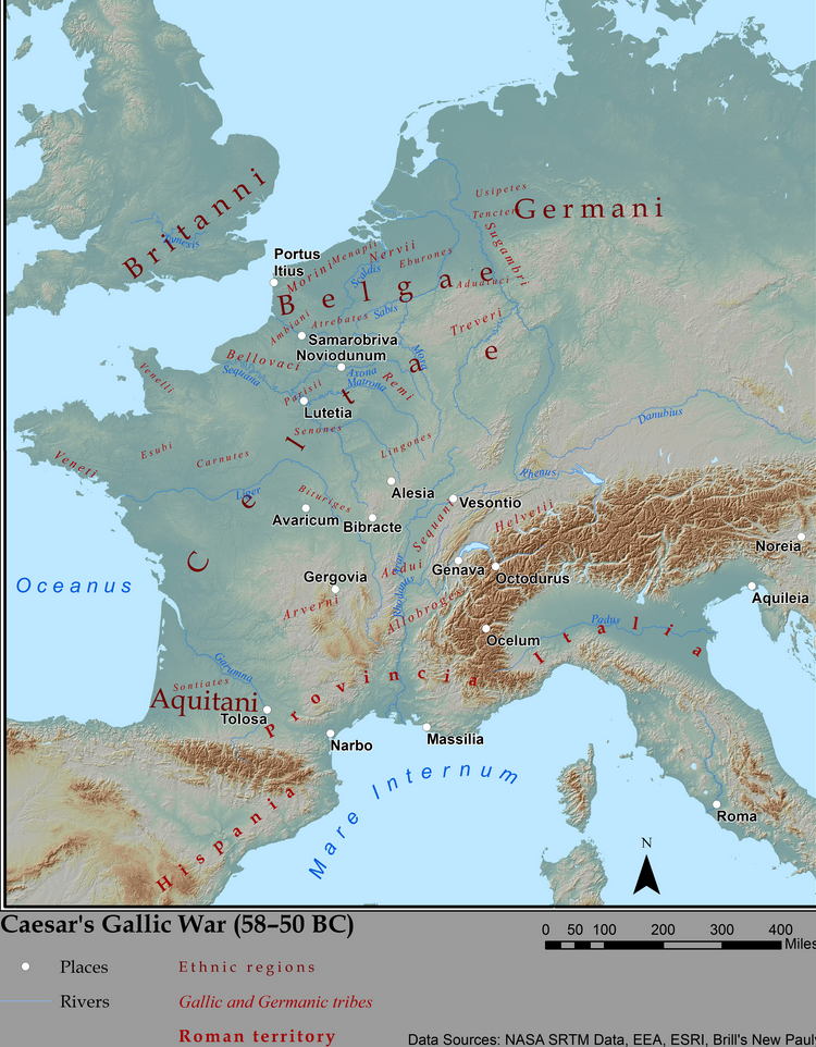 Gaul Map screenshot