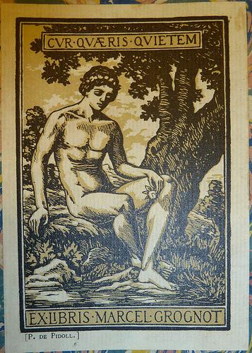 Cur Quaeris Quietem bookplate