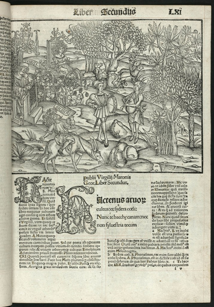 Virgil. Opera (Works). Strasburg: Johann Grüninger, 1502. Sir George Grey Special Collections, Auckland City Libraries