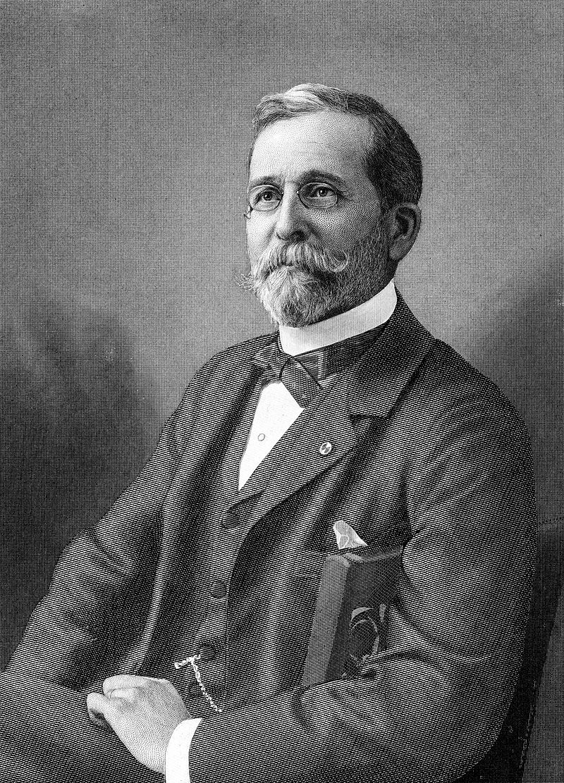 Theodore Ayrault Dodge (1842 – 1909), the American officer, military historian, and businessman who traveled in the tracks of Caesar and mapped his battled and routes.