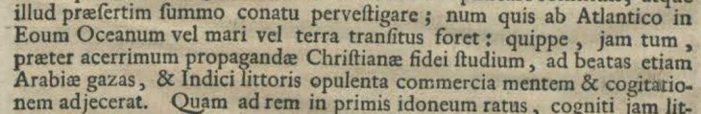 Latin text with lots of punctuation
