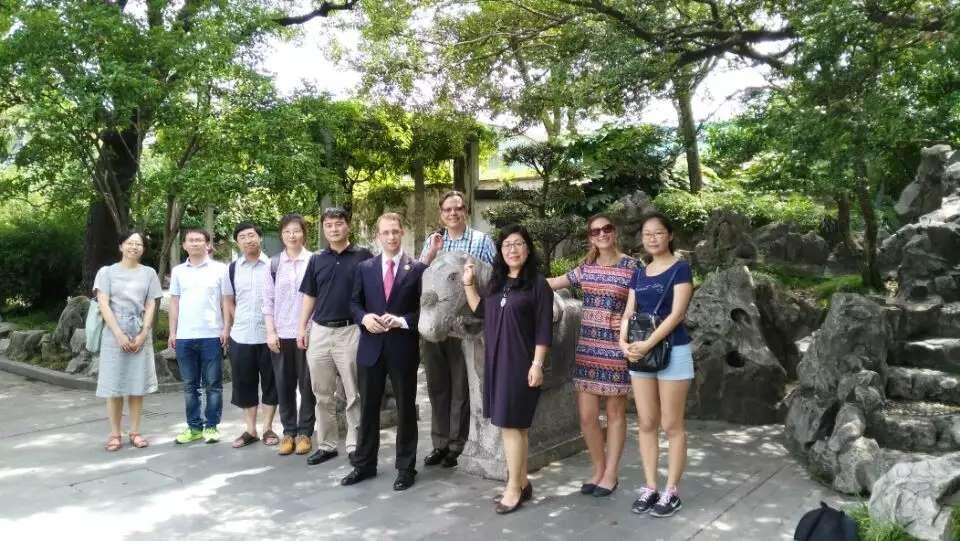 Shanghai Garden photo with scholars
