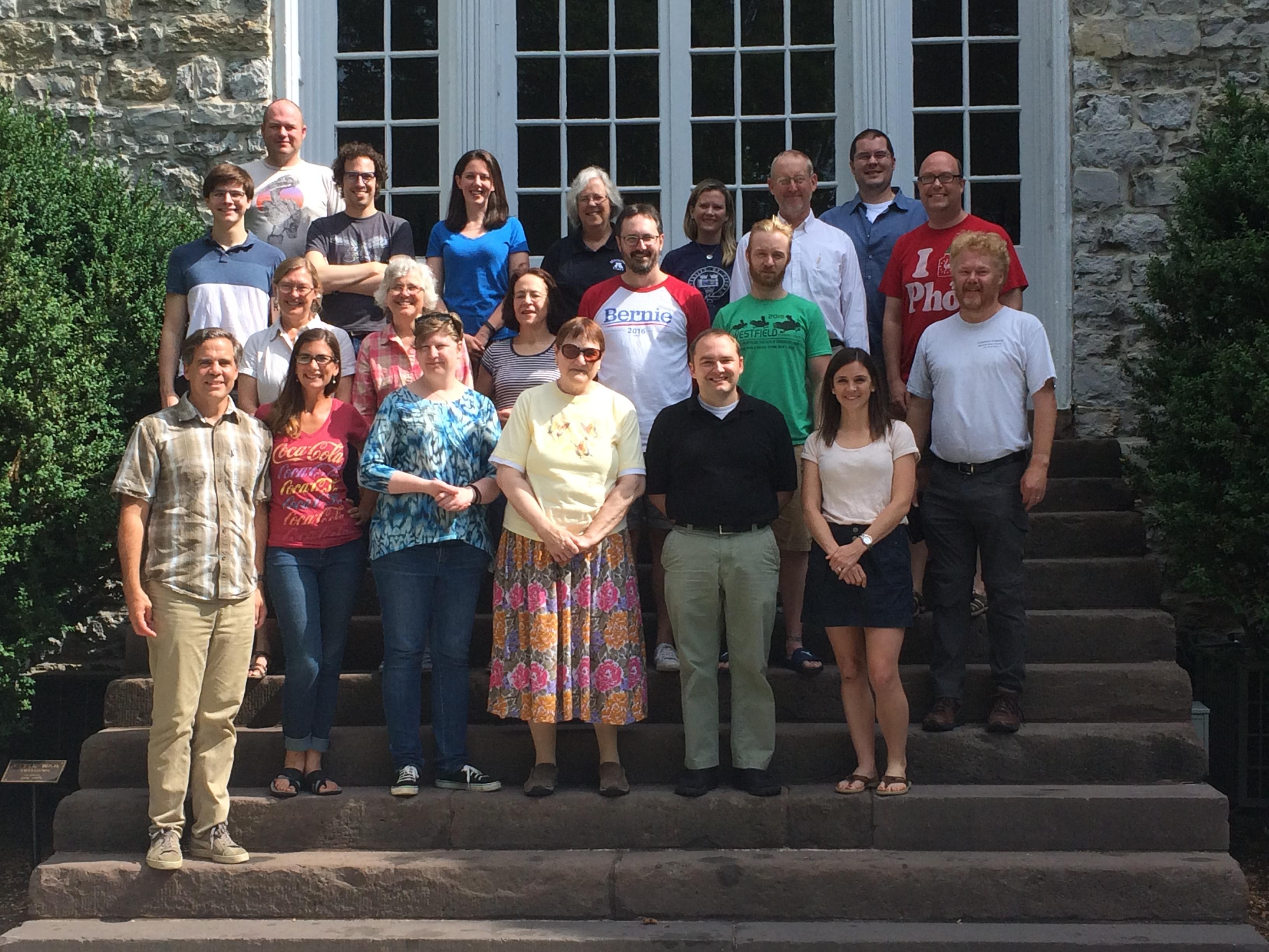 Latin Workshop participants 2016