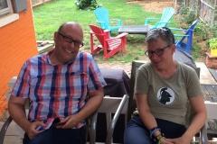 Andrew Fenton and Jane Brinley