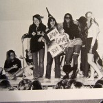 1972 pledge skit performed in the hub in front of school.