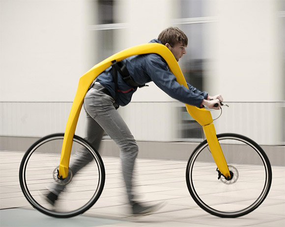 The-Fliz-Bike-concept-FootPowered-Bike