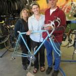 Bruns Lauren  and bike