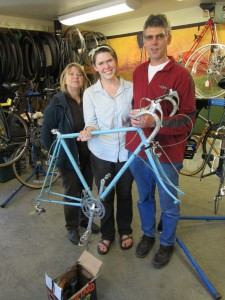 Bruns, Lauren '13 and bike2