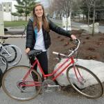 Mallchok Eller  with bike