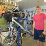 Shewell Nick  and bike