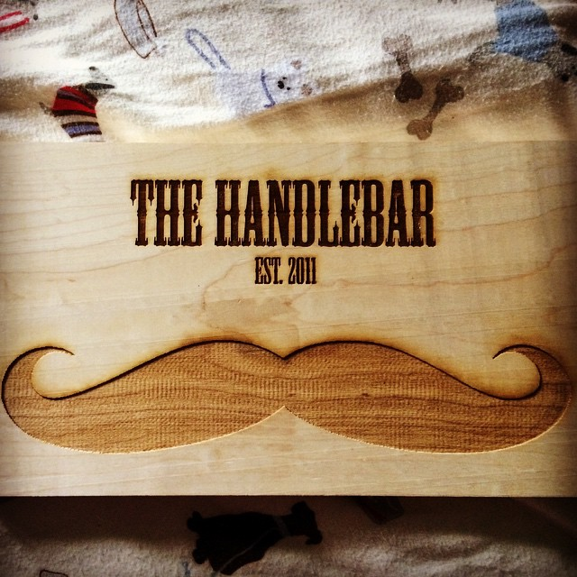 A Christmas present made by my brother for the #handlebar #dsonbikes #biking #bikemaintenance #volunteer #dsonsustainability