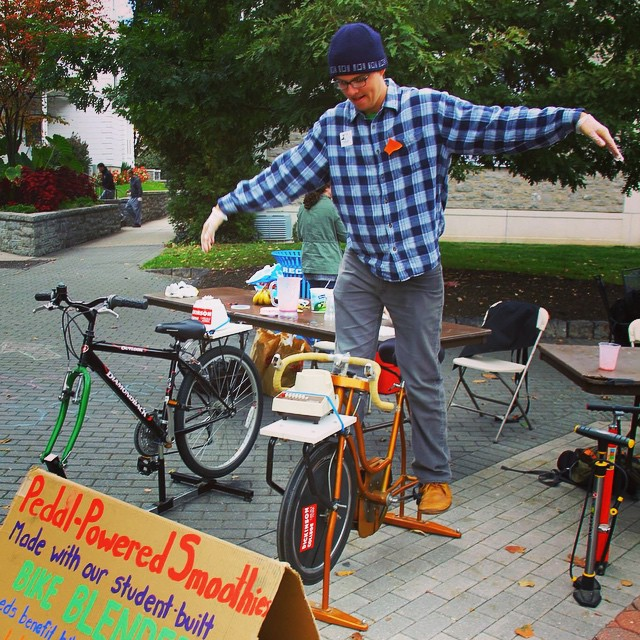 The bike blenders have been two of our favorite #diy projects! #dsonphotos #dsonbikes #dsonsustainability #tbt