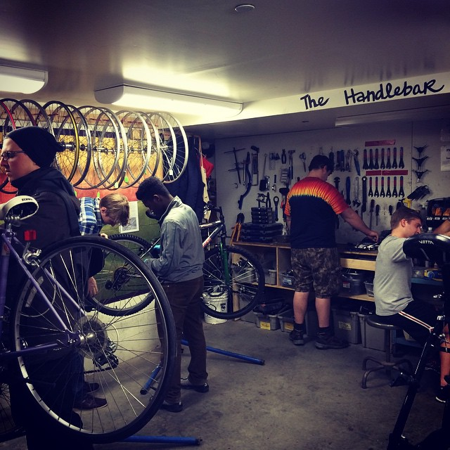 Favorite location - the Handlebar #dsonphotos #dsonbikes #dsonsustainability