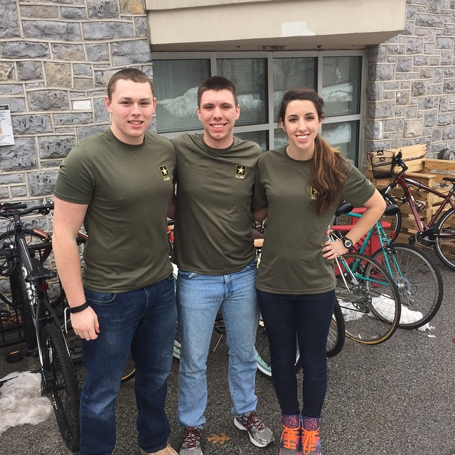 Day 3: 3 of a kind - outside the Handlebar! #GoArmy #dsonphotos #dsonbikes