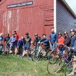Students and Faculty that participated in the Bike to Farm Potuck