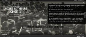 Gettysburg Addresses