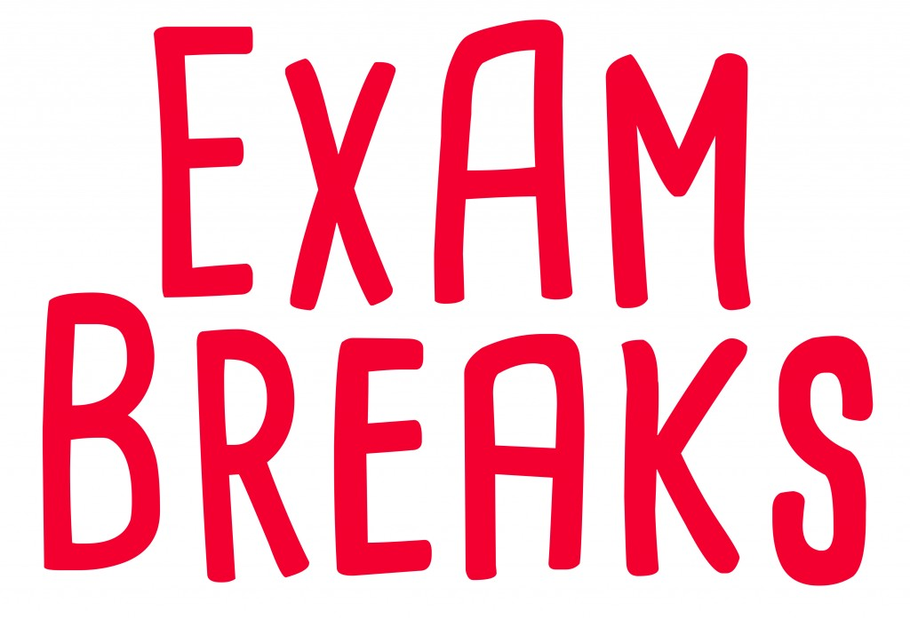 Exam Breaks Red