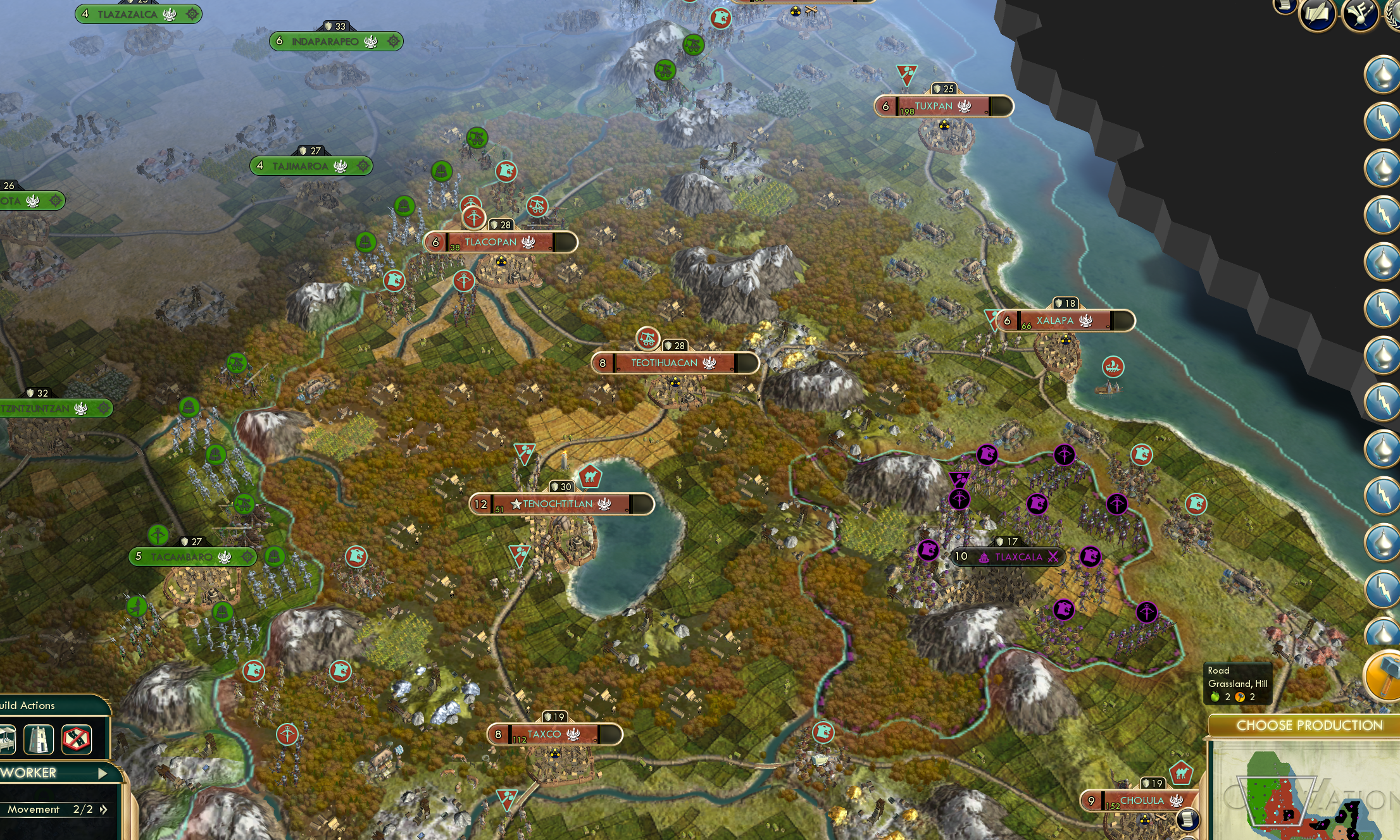 CIV 5 Mod Western World in 1492 Historical Scenario – Civ 5 World Map