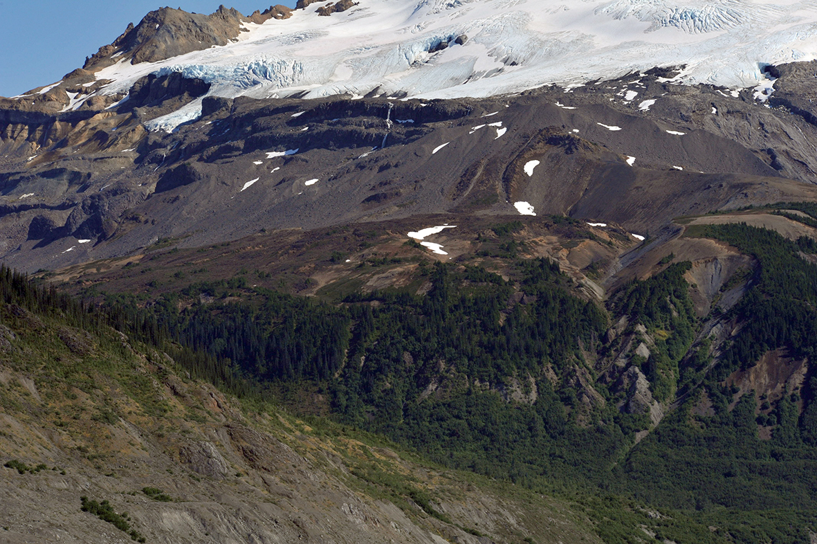 Hoodoo Mtn volcano