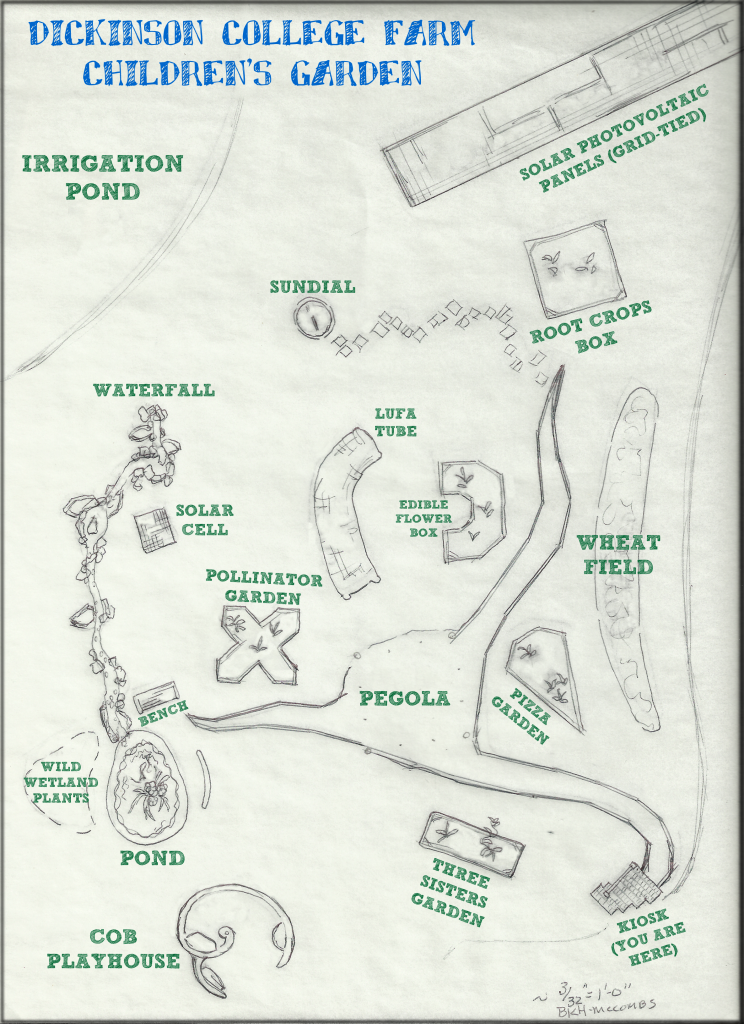 Children's Garden Map 2012