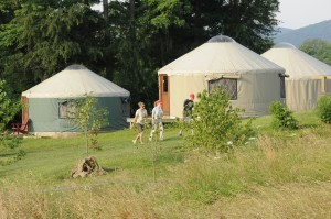 Dickinson College Yurts