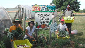 Open Sky Farm: Dickinson Student Garden